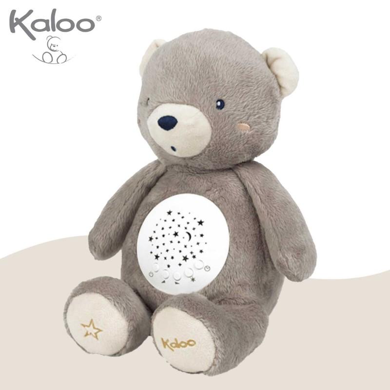 Veilleuse à projection ourson peluche de Kaloo - vue côté 1