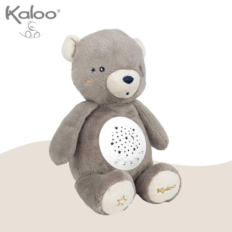 Veilleuse à projection ourson peluche de Kaloo - vue côté 2