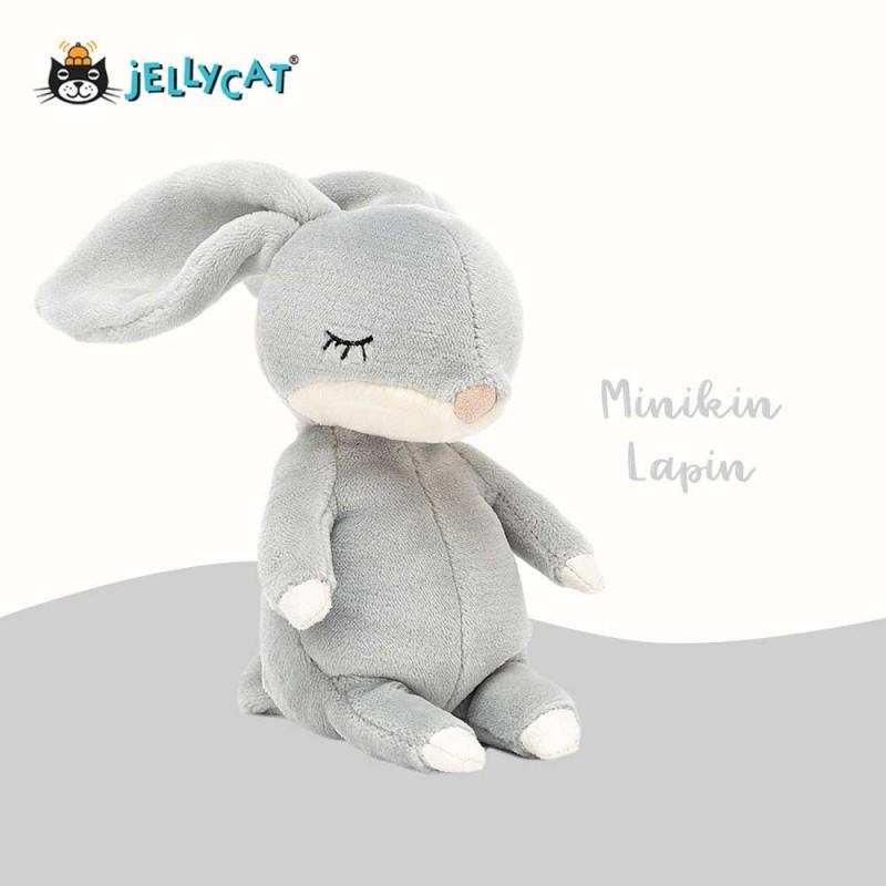 petite peluche minikin de Jellycat lapin bunny 15cm