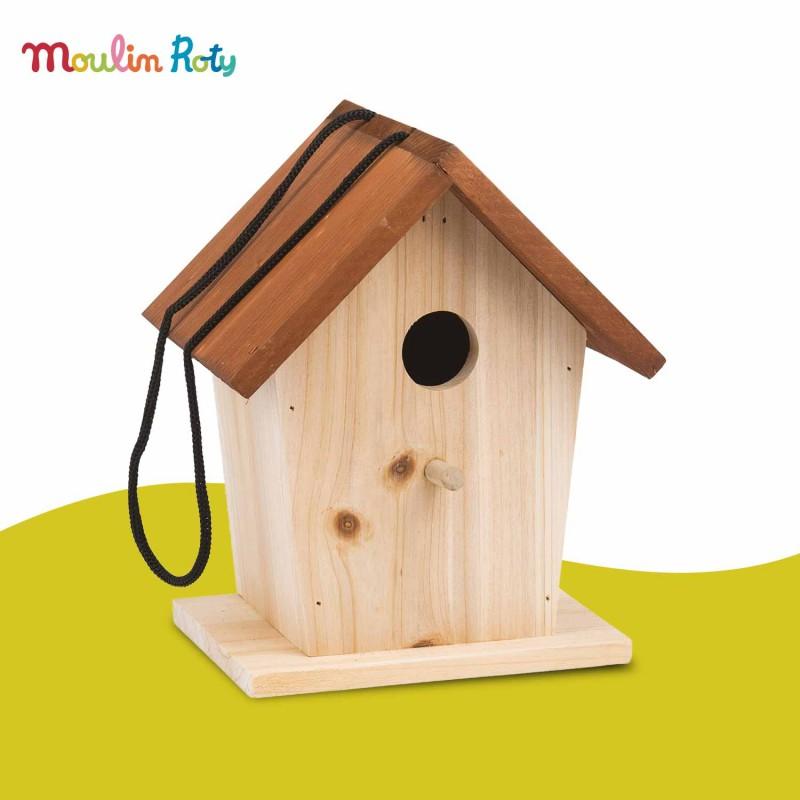 Cabane à Oiseaux Le Jardin du Moulin