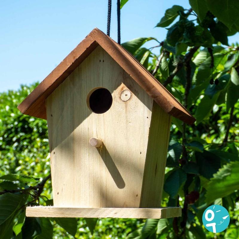 Cabane à Oiseaux Le Jardin du Moulin mise en scène jardin