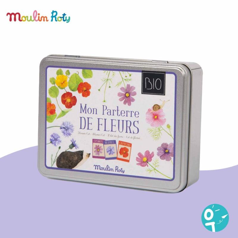 Kit parterre de fleurs BIO Le Jardin du Moulin