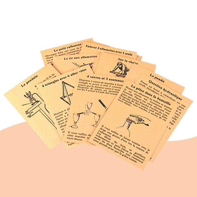 42 récréations amusantes de Marc Vidal - les cartes