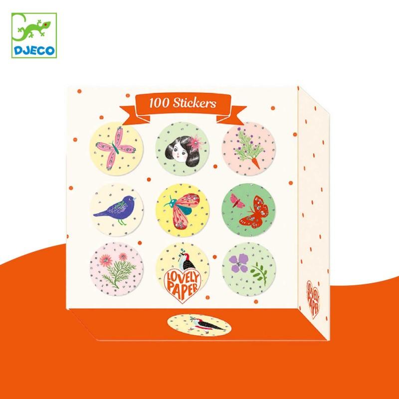 100 stickers par Chichi Huang de Djeco