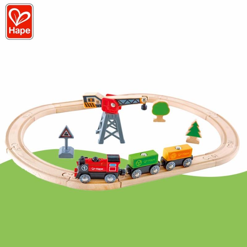 Circuit du train de marchandises pour les enfants (dès 3 ans)