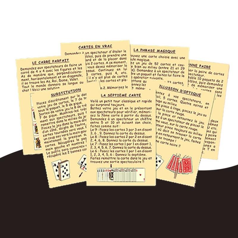 Un jeu de magie pour les enfants et les parents qui en épater plus d'un ! 42 cartes tours de magie