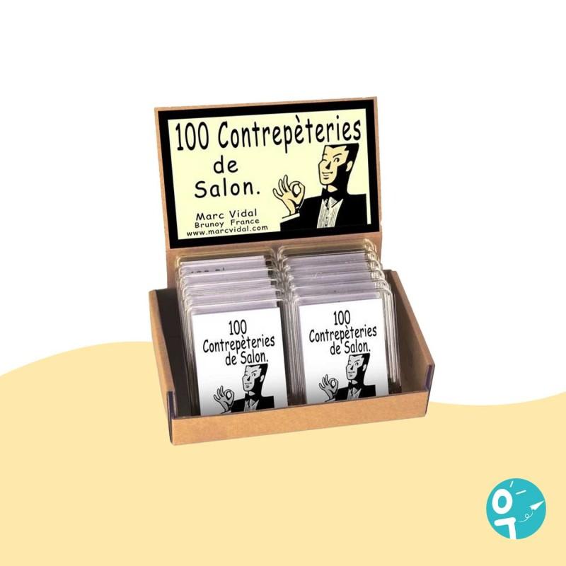100 contrepèteries de salon par Marc Vidal