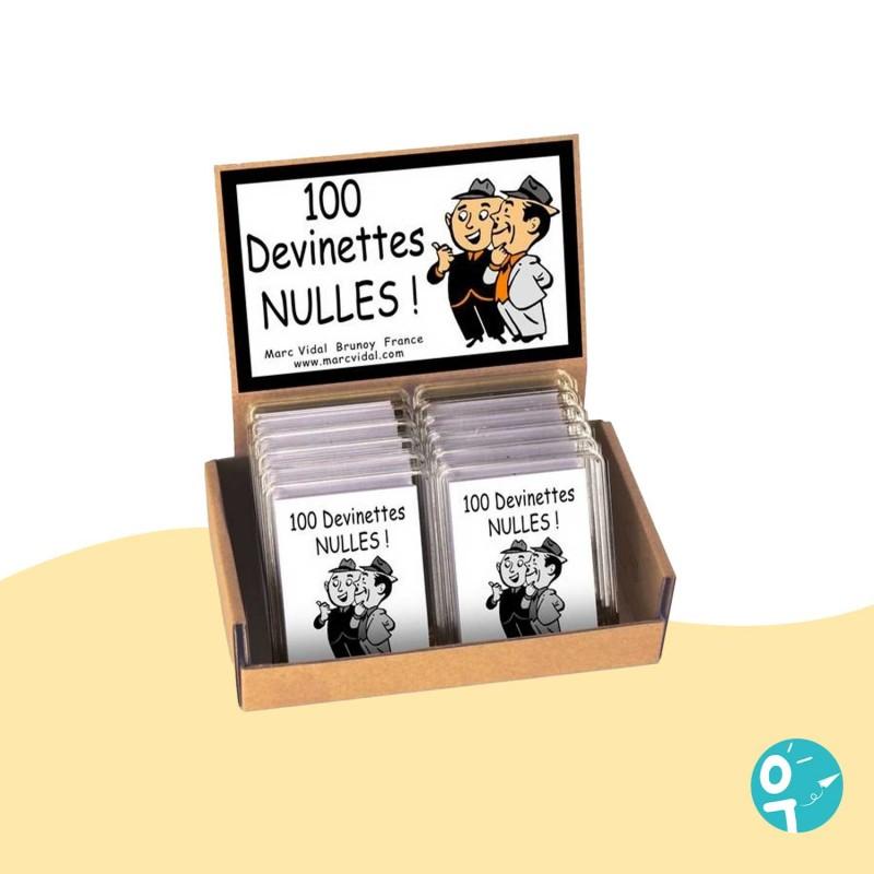 100 devinettes nulles jeu d'ambiance Marc Vidal