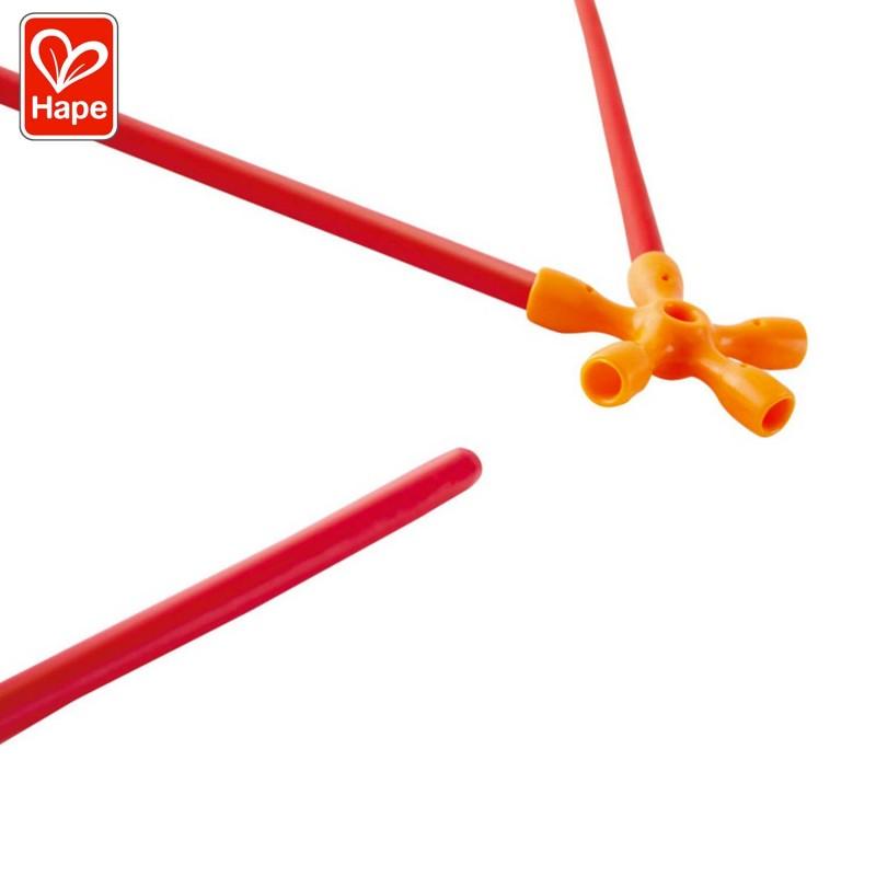 bâtonnets en bambou et les connecteurs flexibles