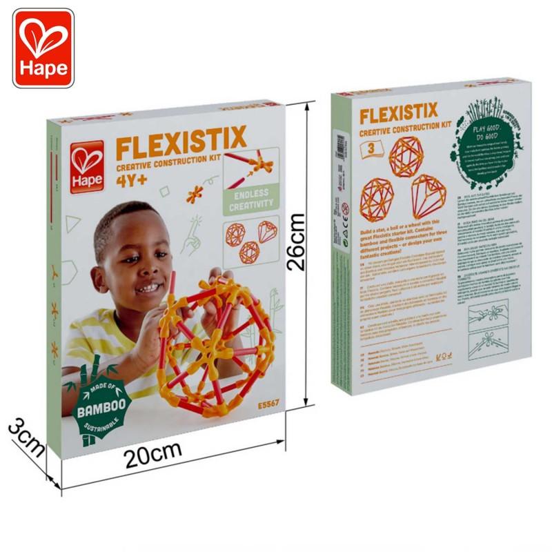 Kit de construction créative Flexistix - les dimensions