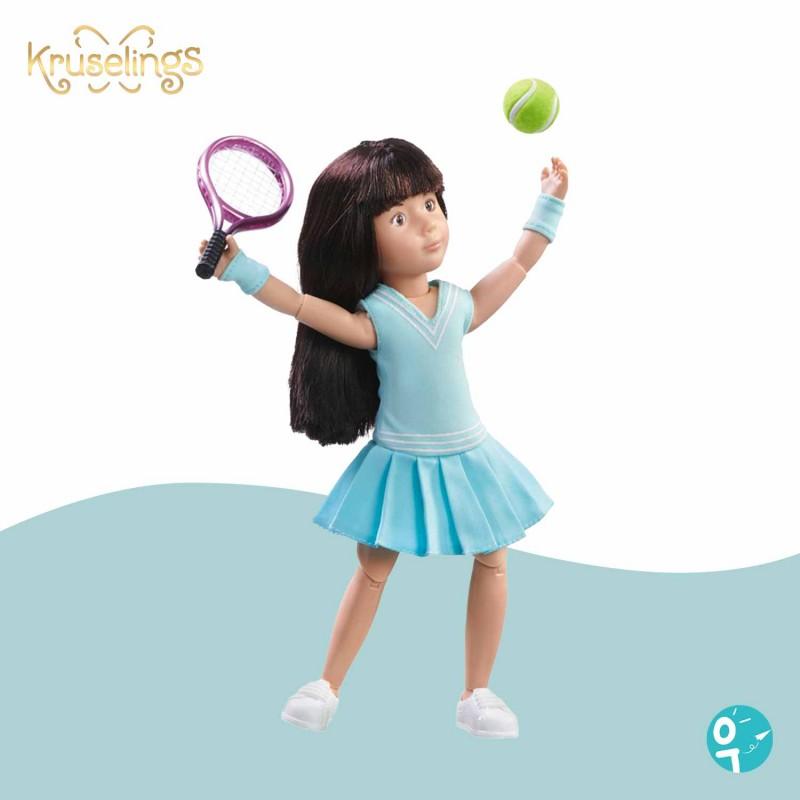 Poupée Luna entrainement de tennis Kruselings