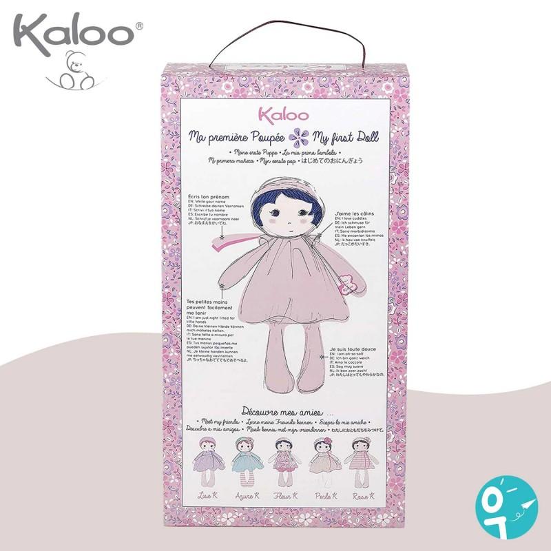 Perle K. Poupée en tissu de Kaloo - Boite face arrière