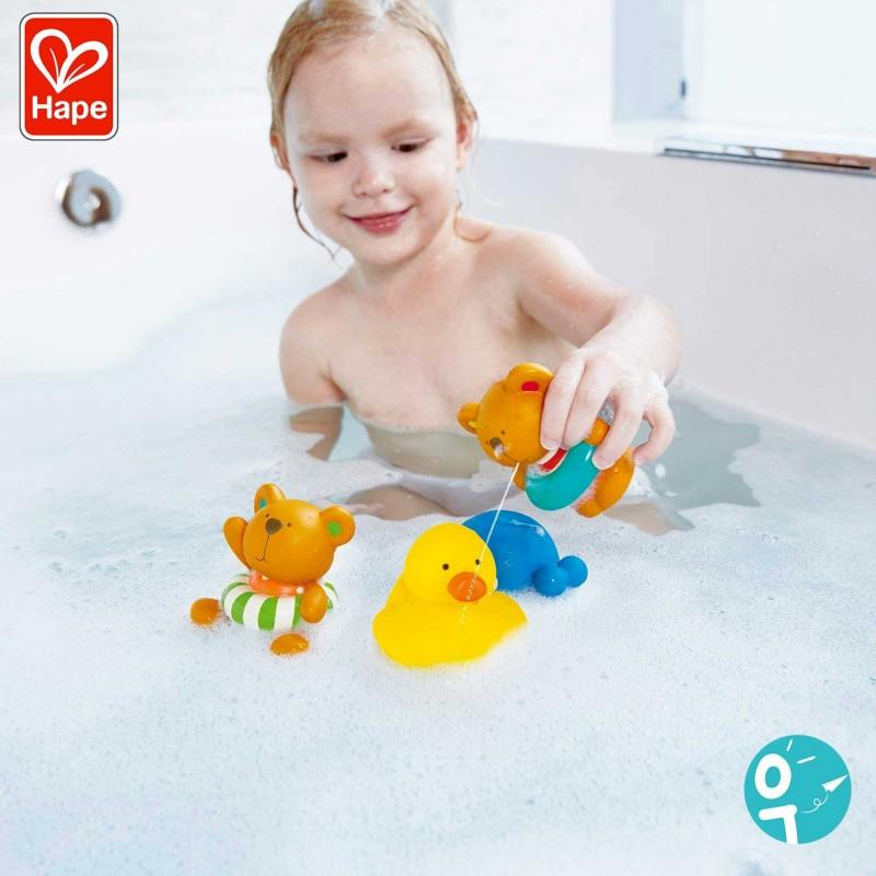 Jouet pour le bain pour amuser les enfants - Mise en scène