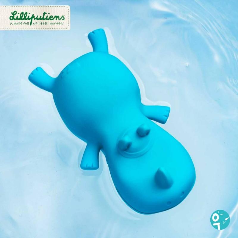 Jouet flotteur bain en forme de rhinocéros