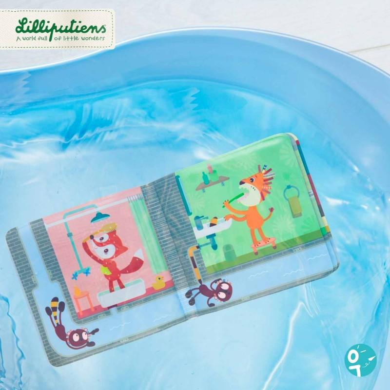 Livre de bain avec de belles illustrations