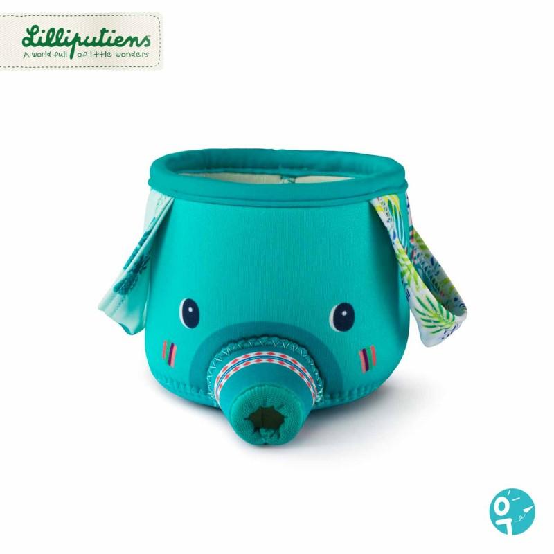 Gobelet de bain éléphant aspergeur pour les enfants