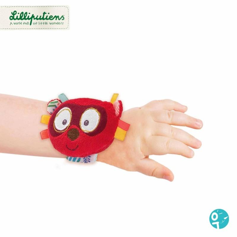Hochet bracelet avec scratch