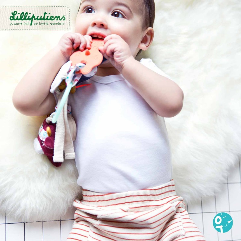Trousseau d'activités sensoriel Ferme pour faire les dents de bébé