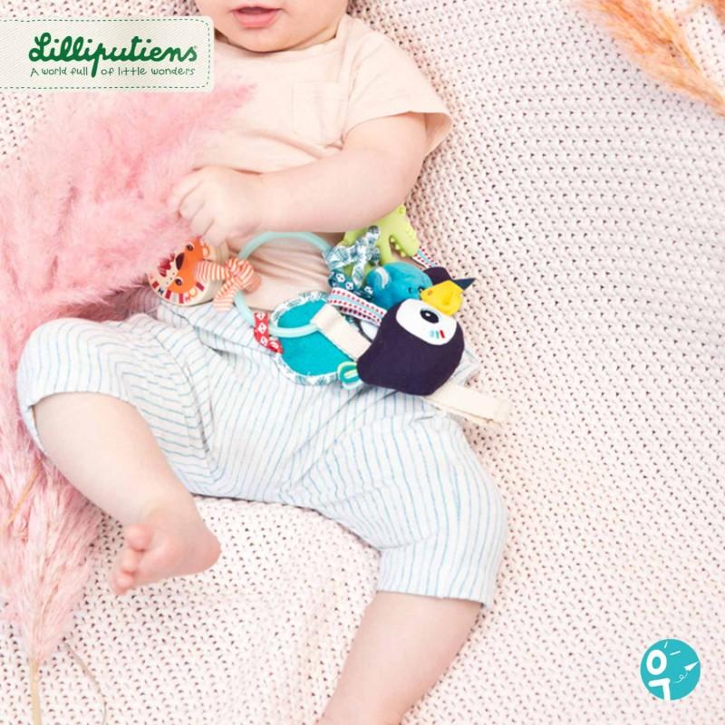 Trousseau d'activités sensoriel Jungle pour les bébés