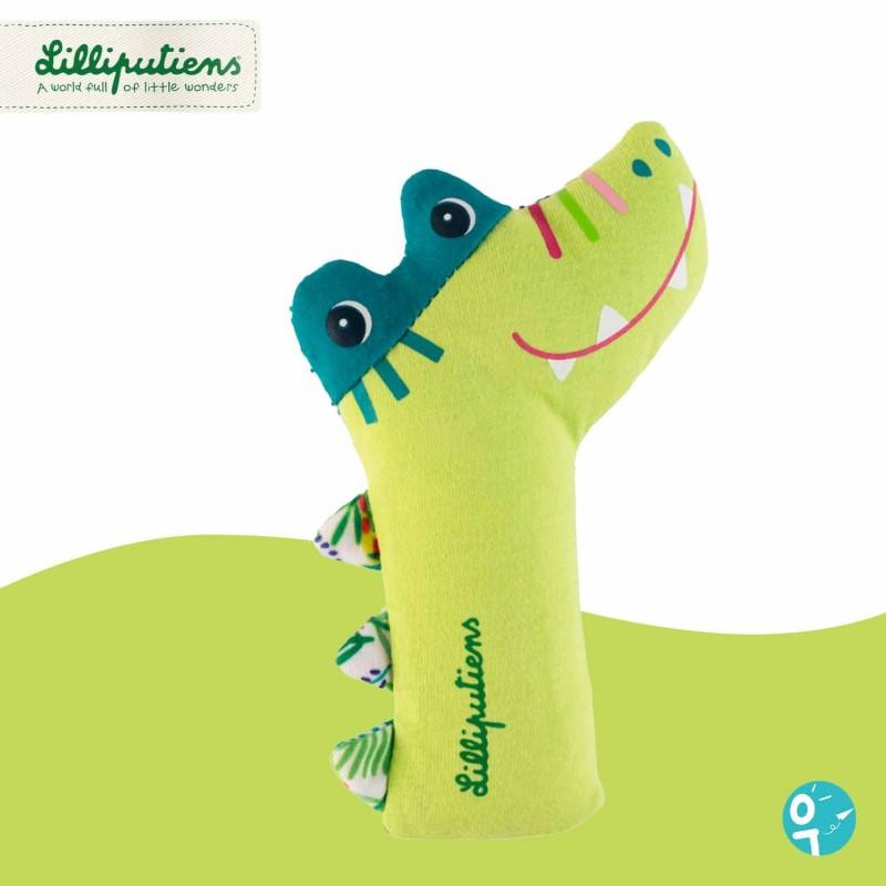 Hochet pouet-pouet Anatole le crocodile Lilliputiens