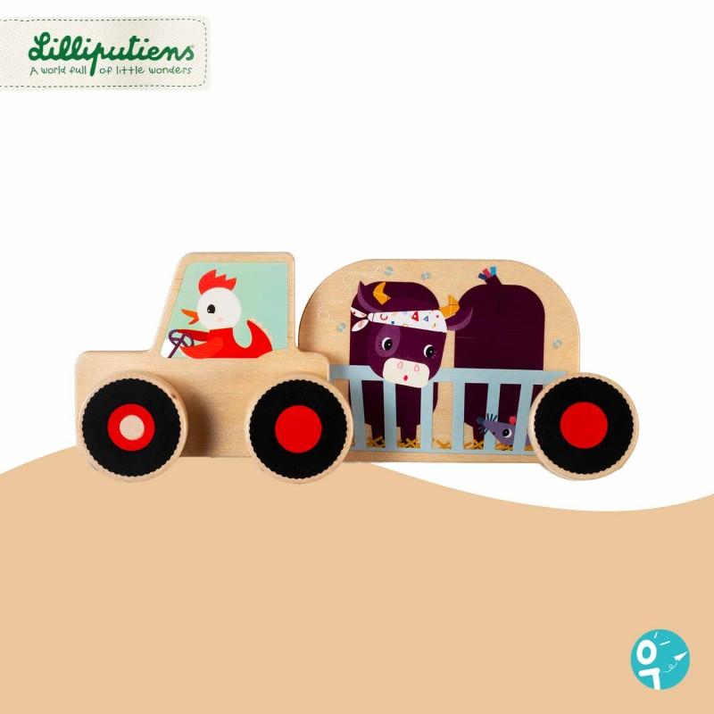 Tracteur d'assemblage Lilliputiens 83145