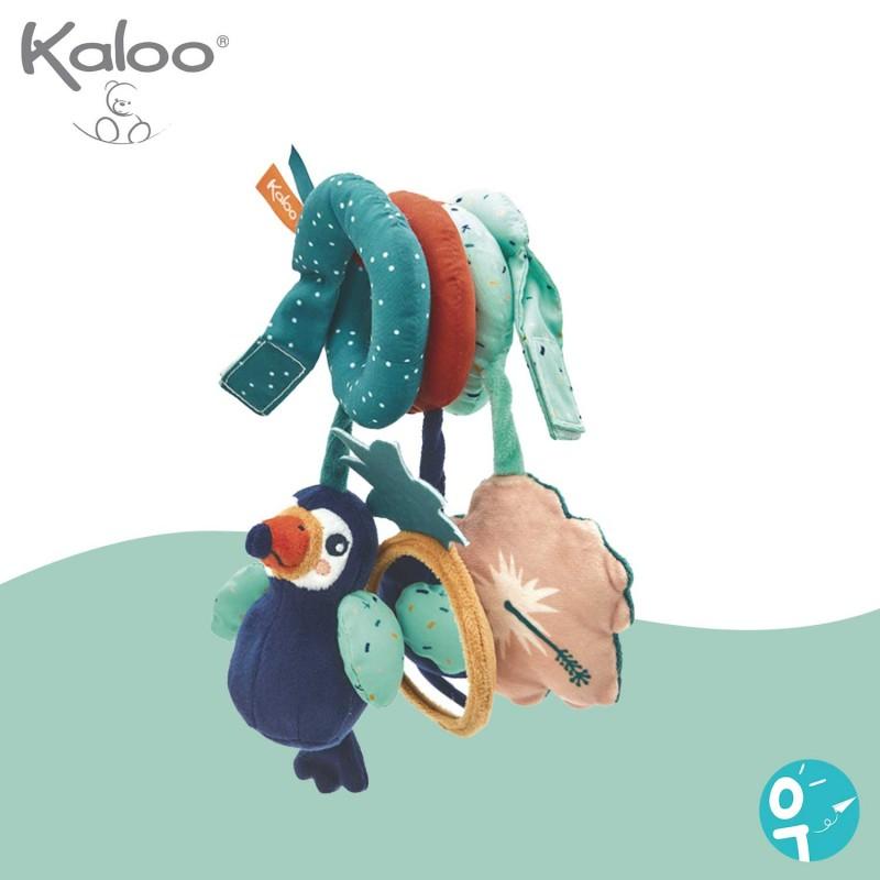 Spirale d'activités Alban le toucan pour les bébés