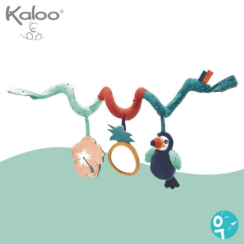 Spirale d'activités Alban le toucan Kaloo