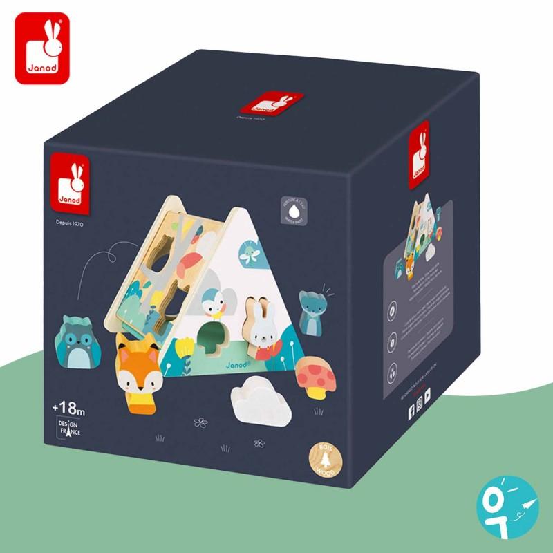 Boîte à formes Pure en bois - La boite