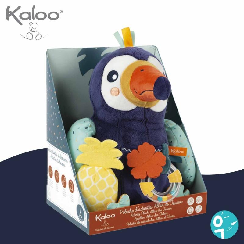 Peluche d'activités Alban le toucan Kaloo boite