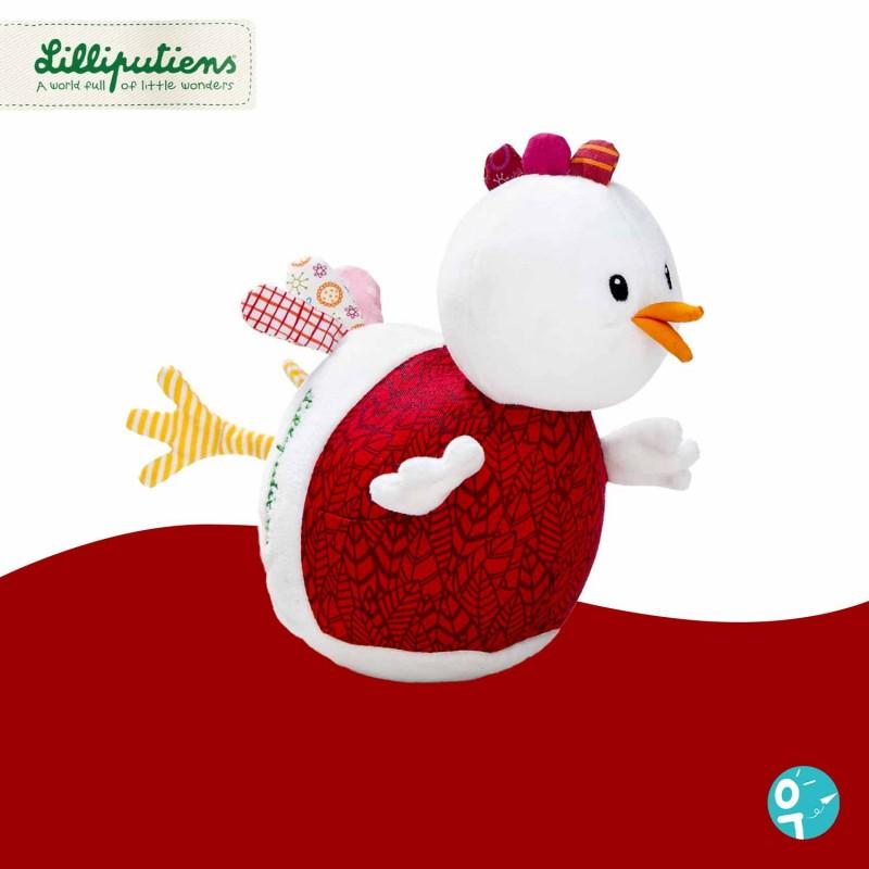 Culbuto Ophélie la poule de Lilliputiens LI86837