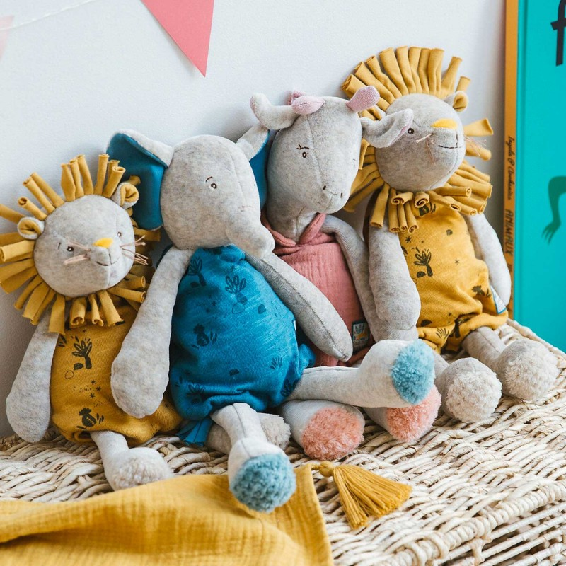 Peluches musicales Moulin Roty