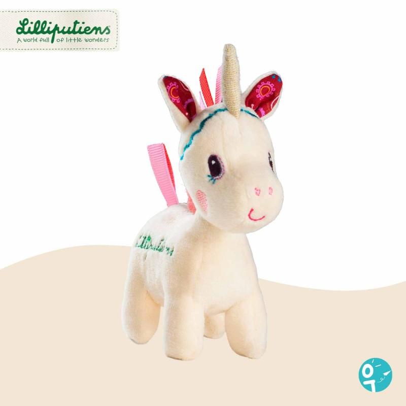 Mini peluche Louise la licorne Lilliputiens 83139