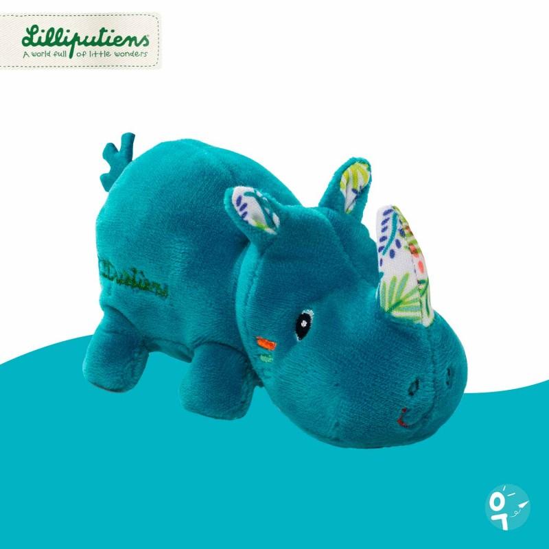 Mini peluche Marius le rhinocéros Lilliputiens 83136