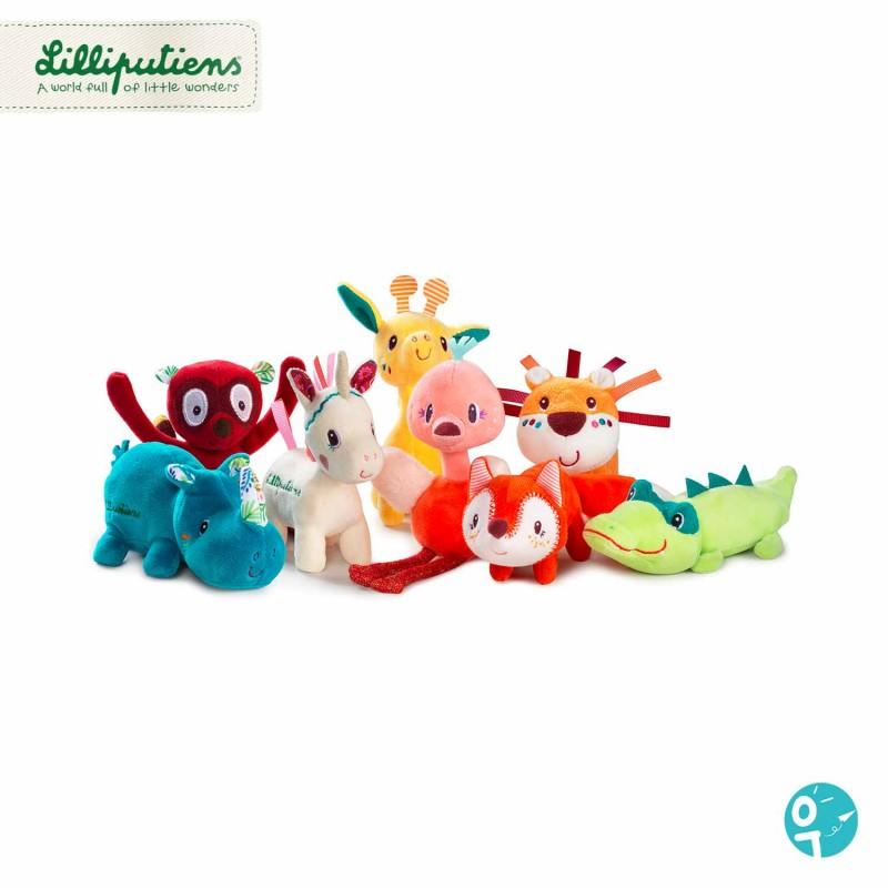Collection des Mini-peluches de Lilliputiens