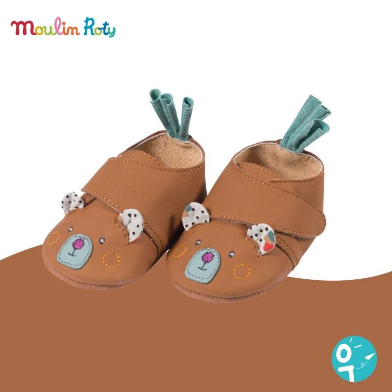 Chaussons pour bébé de qualité par Moulin Roty