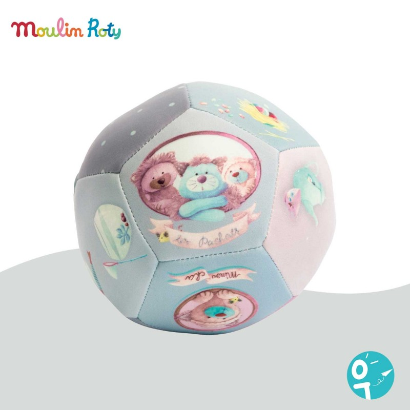 Balle souple Les Pachats Moulin Roty 660510