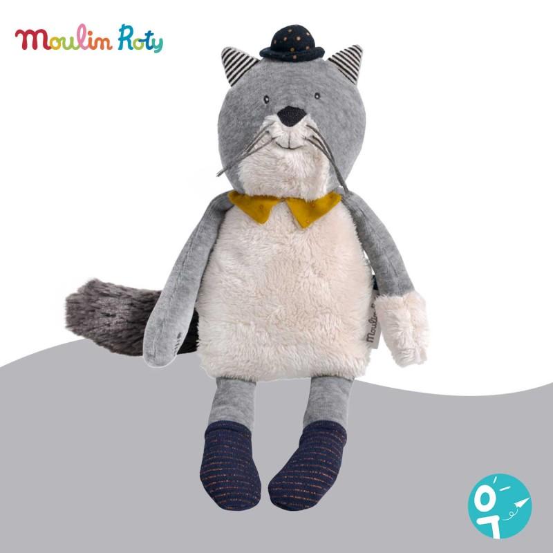 Doudou Fernand le chat Les Moustaches de Moulin Roty 666022