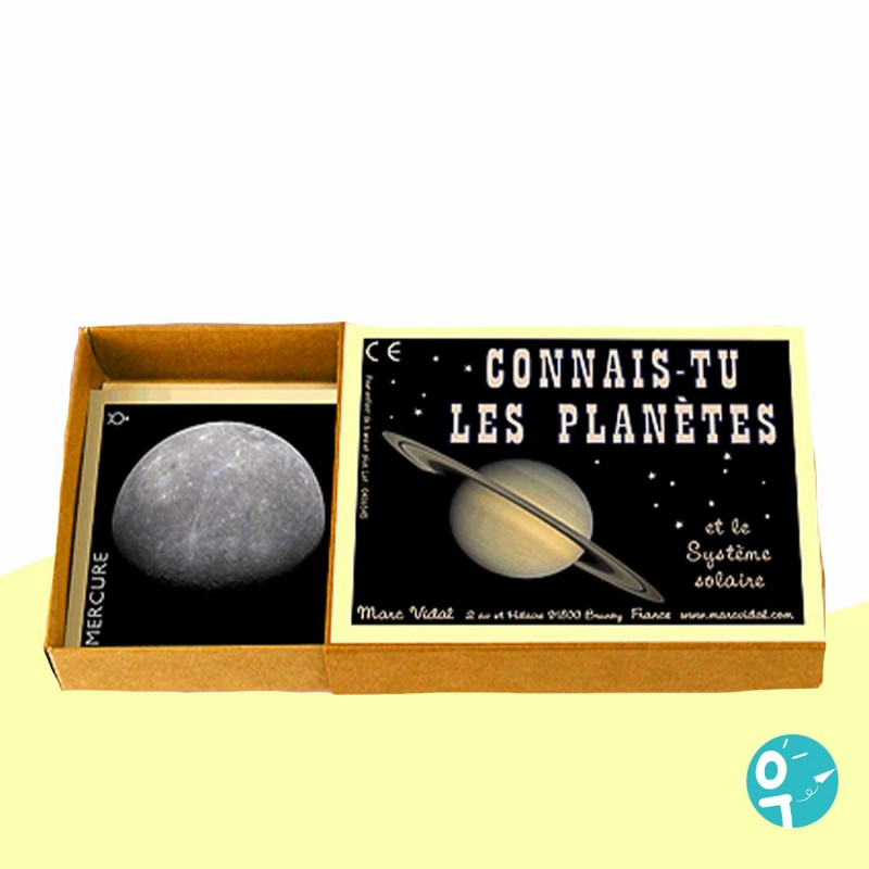 Jeu Connais-tu les planètes ? Marc Vidal
