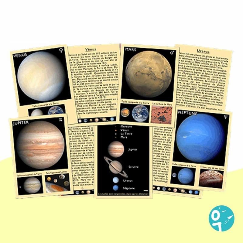 Jeu de Marc Vidal pour apprendre les planète du système solaire