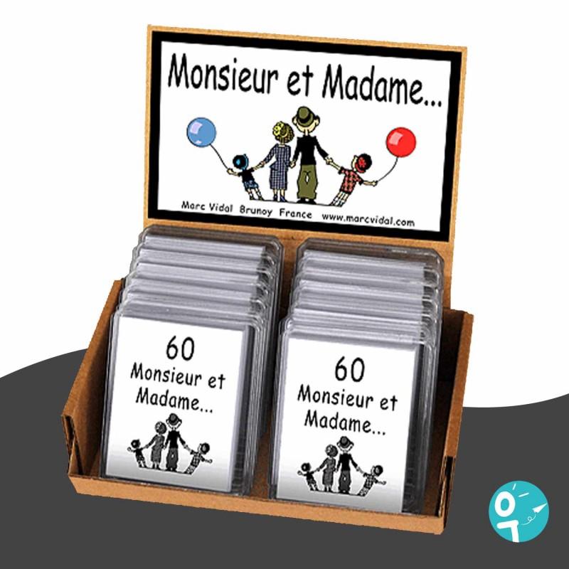 Jeu 60 Monsieur et Madame Marc Vidal