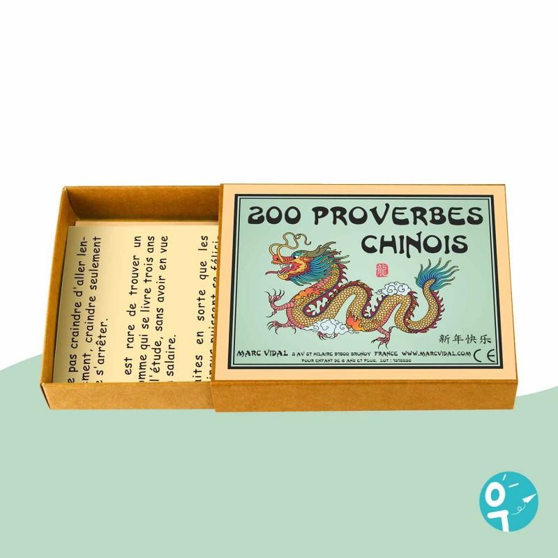 Jeu 200 proverbes chinois Marc Vidal