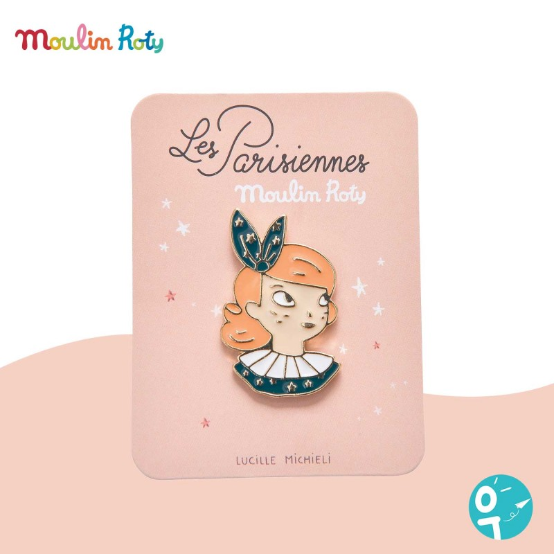 Pin's Constance Les Parisiennes Moulin Roty