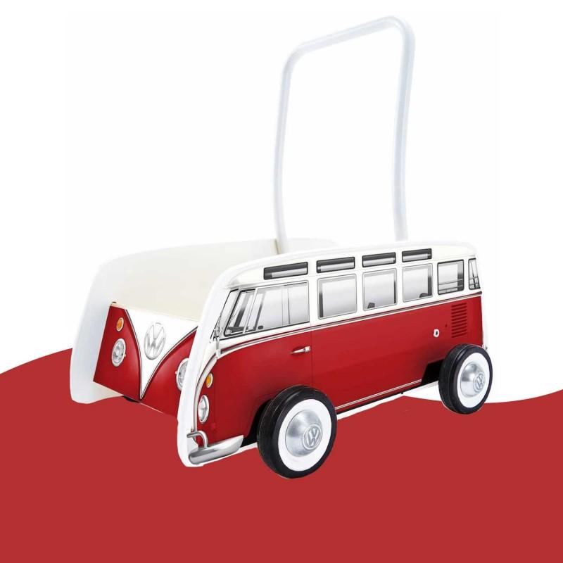 Trotteur combi rouge Hape E0379