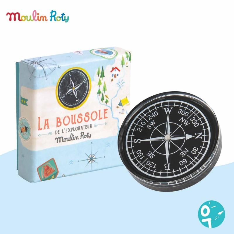 Boussole de l'explorateur Le Jardin du Moulin Moulin Roty 337742
