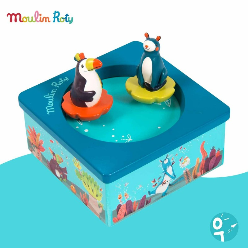 Boite à musique magnétique Moulin Roty 668105