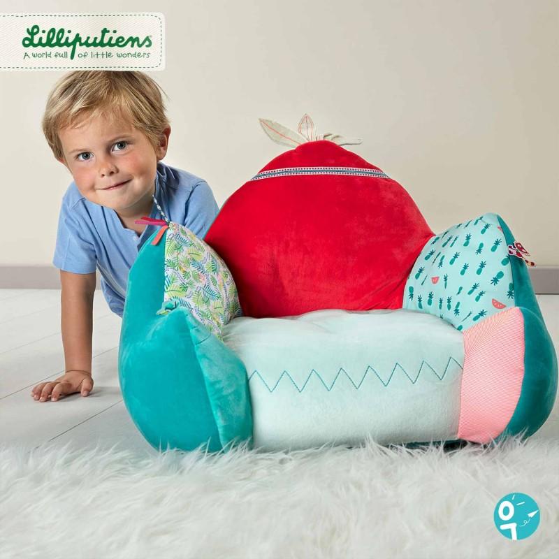Fauteuil Lilliputiens pour les enfants de 1 à 6 ans.