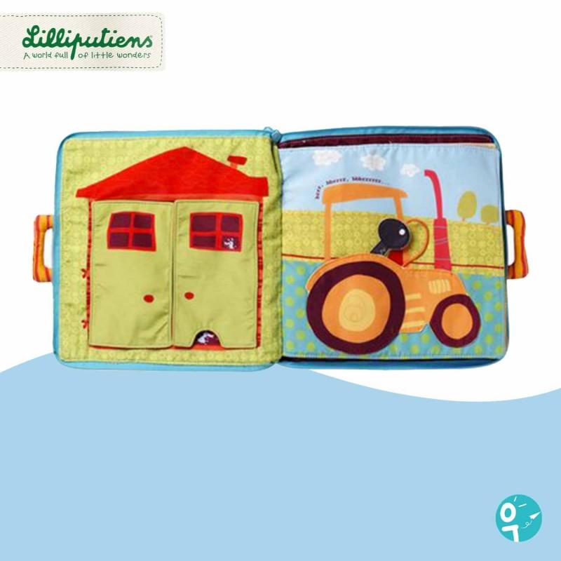 page du livre d'activités pour les enfants dès 6 mois