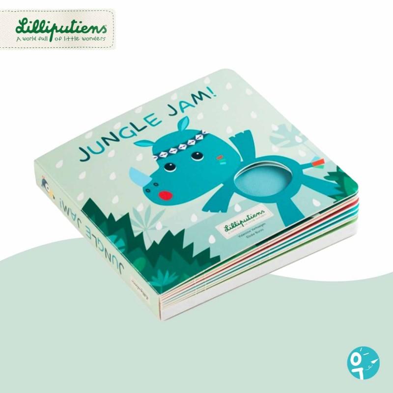Livre tactile et sonore Jungle Lilliputiens