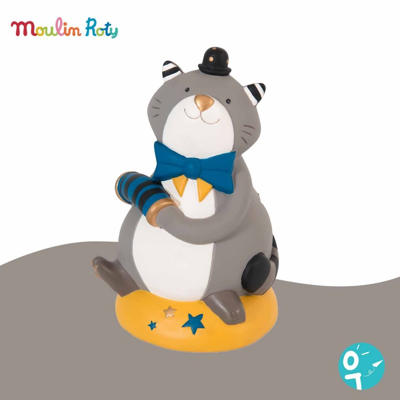 Tirelire chat Les Moustaches Moulin Roty