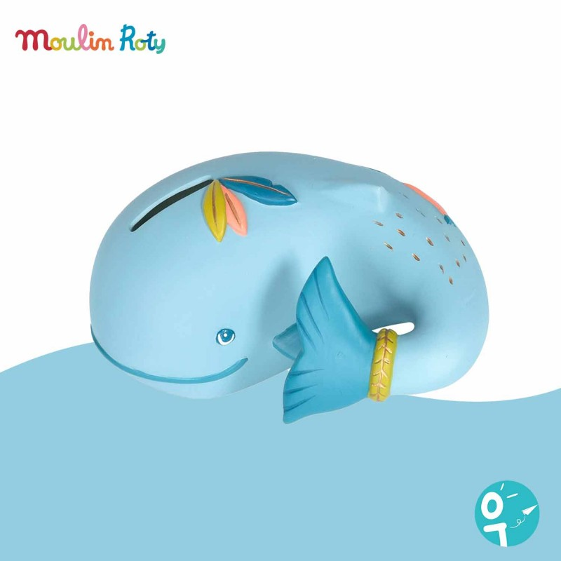 Tirelire baleine Le Voyage d'Olga Moulin Roty 714170